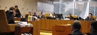Sessão do Supremo Tribunal Federal (Banco de imagens STF)