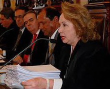Ministra Jane Silva (Foto: Renata Mendes/BH)