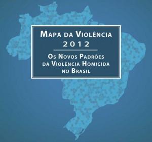 Capa da pesquisa Mapa da Violência 2012