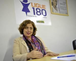 Aparecida Gonçalves é secretária nacional de Enfrentamento à Violência contra as Mulheres da Secretaria de Políticas para as Mulheres da Presidência da República (SPM-PR) (Foto: Valter Campanato/AgBr)