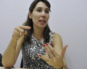 Karla Valente Sanches, coordenadora do programa de abrigamento da Secretaria de Políticas para as Mulheres (SPM-PR) (Foto: Valter Campanato/AgBr)