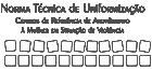 Capa Norma Técnica de Uniformização das CRAMs140x65