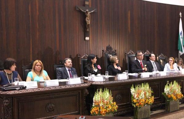 Lançamento Campanha Curitiba (Foto: TJPR)