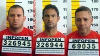 Macarrão, Bruno e Bola fichados (Foto: Veja)