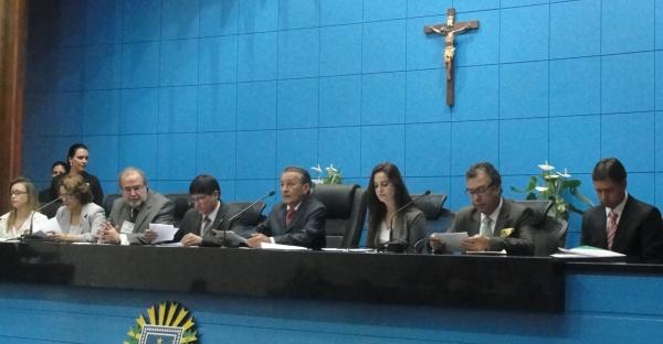 Solenidade lançamento da Campanha em Campo Grande (Foto: Géssica Brandino)