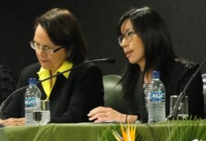 Aline Yamamoto, coordenadora de Acesso à Justiça e Combate à Violência da SPM-PR