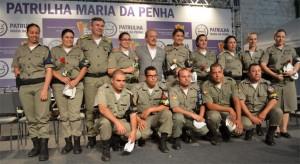 Patrulha Maria da Penha efetivo_brigada