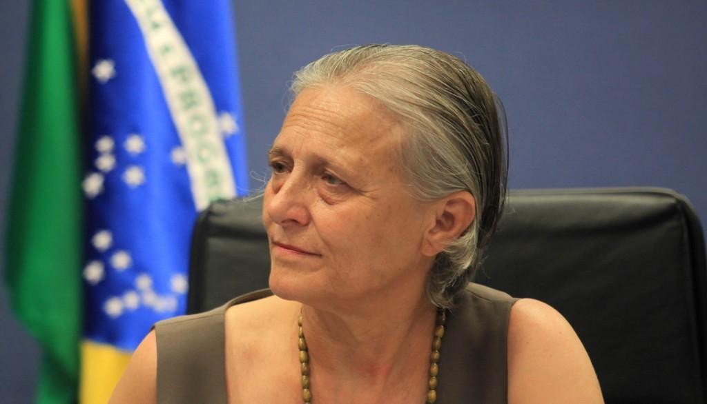 Vice-Procuradora da República Ela Wiecko Volkmer de Castilho. Foto: Gláucio Dettmar/Agência CNJ.