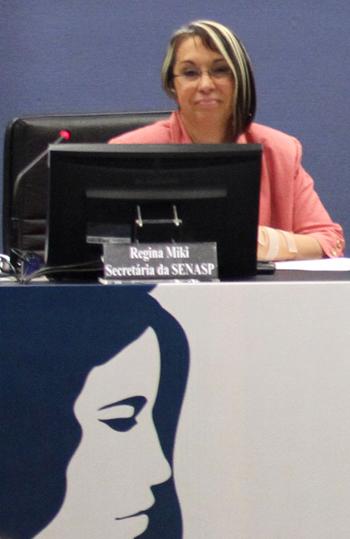 Regina Miki, secretária da Senasp (Foto: Conselho Nacional de Justiça)
