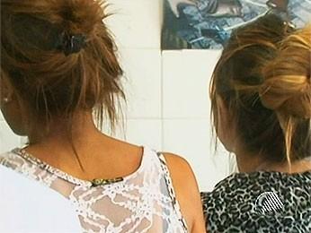 Adolescentes vítimas da banda New Hit (Foto: Reprodução/TVSubae)
