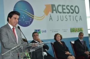 Flavio Caetano no lancamento do Atlas de Acesso a Justica (Foto Agencia Brasil)