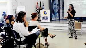 O seminário reuniu autoridades civis e militares na manhã desta quarta-feira (19) (Foto: Alan Batista/PMSJC)