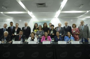 Evento de adesão de empresas públicas e privadas à Campanha Compromisso e Atitude (Foto: AgBrasil)