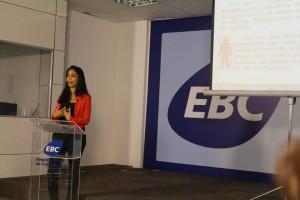 Funcionários da EBC assistem a palestra sobre a Lei Maria da Penha e o enfrentamento à violência contra a mulher (Crédito: Roseli Garcia/SPM)