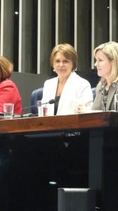 Senadora Angela Portela
