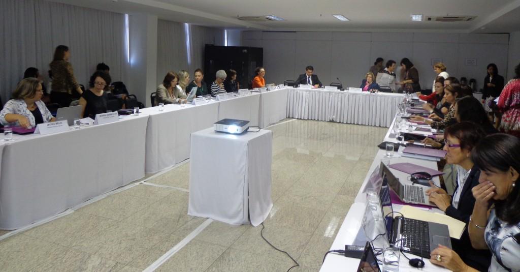 Oficina sobre feminicídio reuniu especialistas de todas as áreas para debater os obstáculos e as estratégias para o enfrentamento do feminicídio no Brasil (Foto: Marisa Sanematsu)