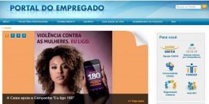 Imagem do Portal do Empregado
