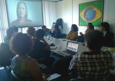 Reunião de empresas parceiras da Campanha Compromisso e Atitude (Foto: Luciana Araújo)