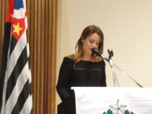 Promotora Silvia Chakian destaca Lei Maria da Penha e cobra punição dos assassinatos de mulheres (Foto: Géssica Brandino)