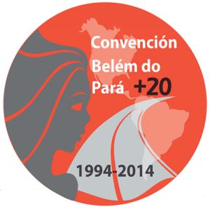 Logo Convenção de Belém do Pará+20