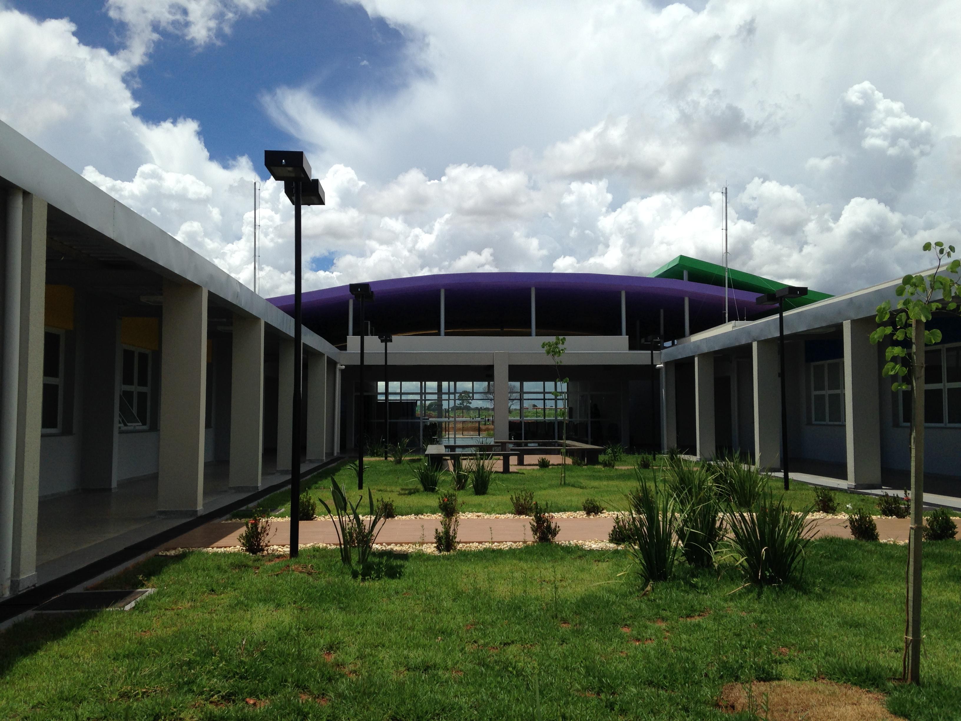 Jardim da Casa da Mulher Brasileira de Campo Grande