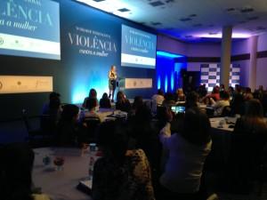 abertura do workshop internacional sobre violência contra as mulheres