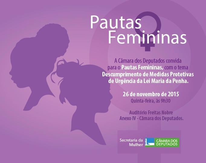 Pautas femininas_medidas protetivas