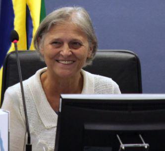 A Vice Procuradora-Geral da Republica Ela Wiecko Volkmer de Castilho em foto de Gláucio Dettmar, da AgênciaCNJ