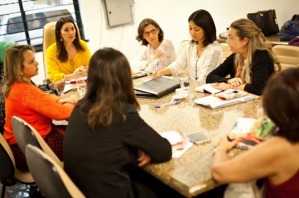 Reunião de trabalho para adaptação das Diretrizes Nacionais para Investigar, Processar e Julgar com Perspectiva de Gênero as Mortes Violentas de Mulheres – Feminicídios à realidade do Piauí (Foto:Maurício Pokémon/Governo do Piauí)