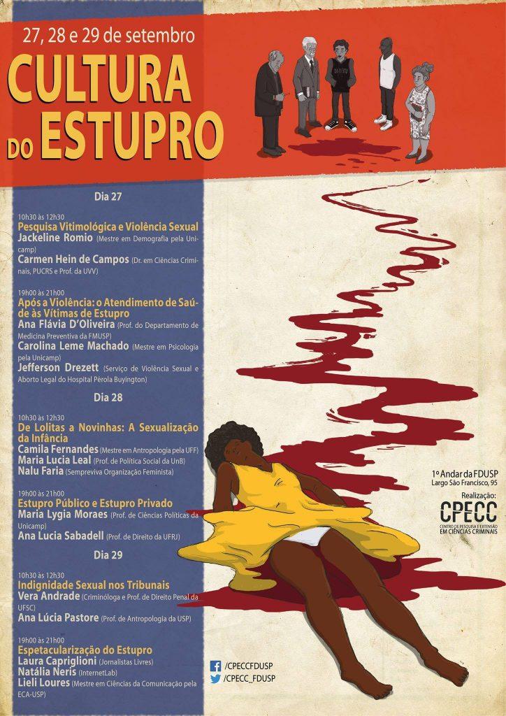 Evento USP Cultura do estupro