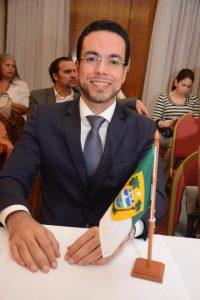 Juiz de Direito Deyvis de Oliveira Marques (TJRN), eleito presidente do Fonavid durante a 8ª edição do fórum (Foto: Divulgação Fonavid via Facebook)