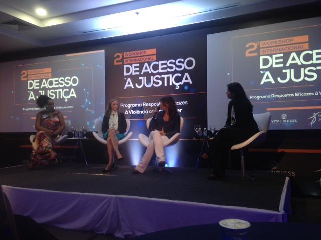 Workshop Avon/Vital Voices em São Paulo, maio de 2017
