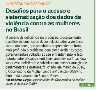 Desafios para o acesso e sistematização dos dados de violência contra as mulheres no Brasil